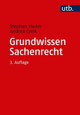 Abbildung von Meder / Czelk | Grundwissen Sachenrecht | 3. Auflage | 2018 | 2653