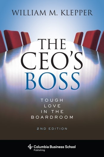 The CEO's Boss | Klepper, 2018 | Buch (Cover)