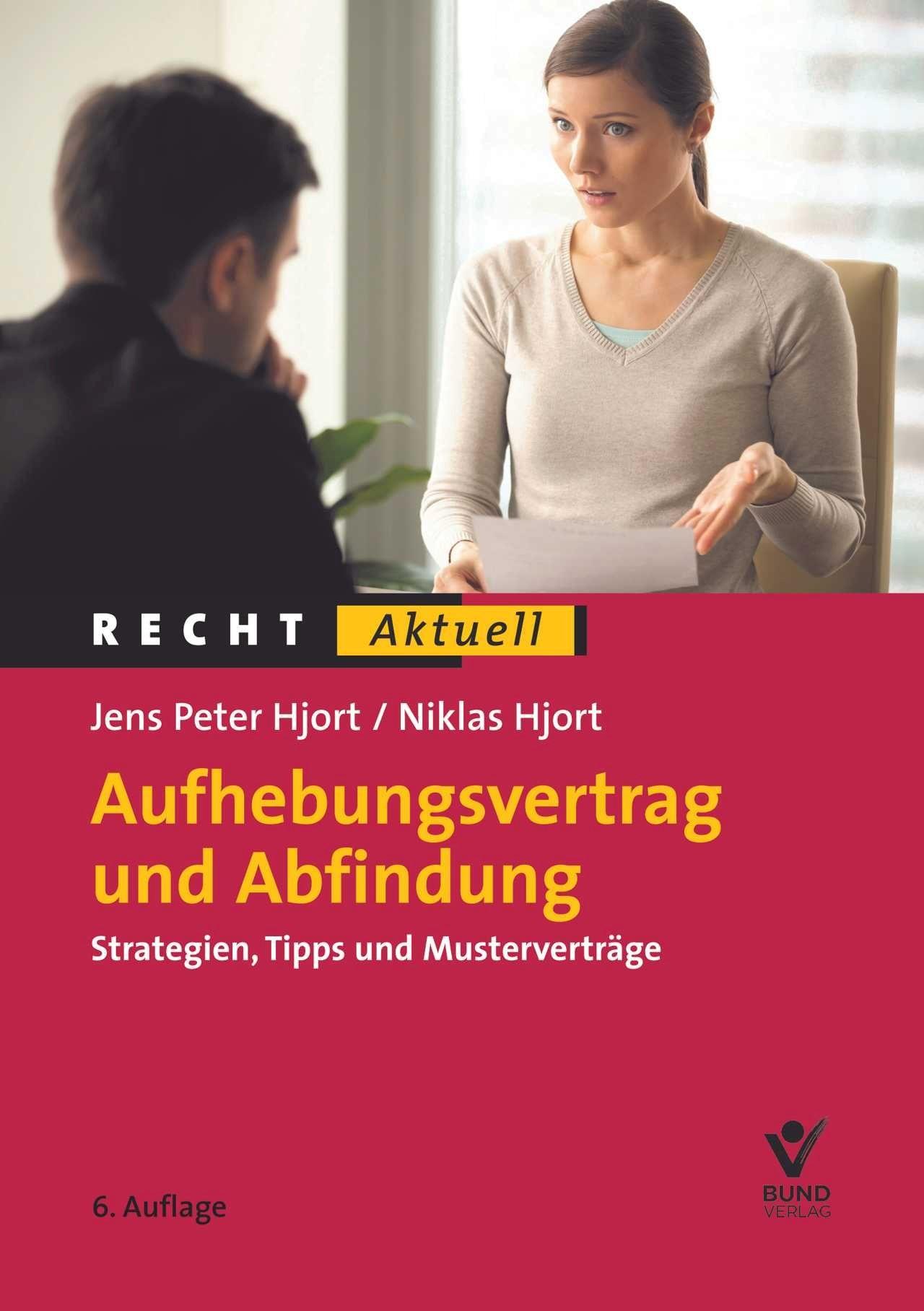 Aufhebungsvertrag und Abfindung | Hjort, 2019 | Buch (Cover)