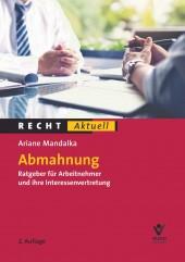 Abmahnung | Mandalka | 2., neu bearbeitete Auflage, 2018 | Buch (Cover)