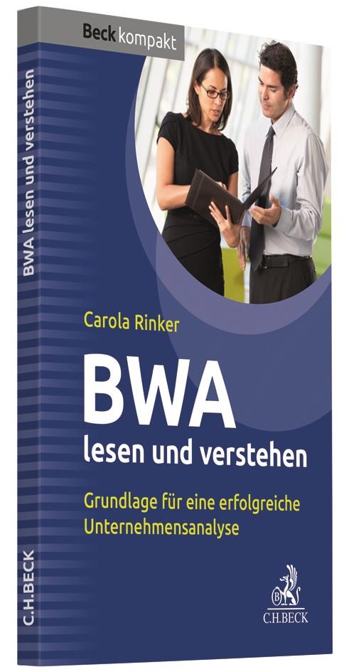 BWA lesen und verstehen | Rinker, 2019 | Buch (Cover)