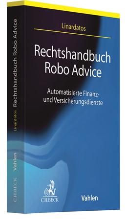 Abbildung von Linardatos | Rechtshandbuch Robo Advice | 2020 | Automatisierte Finanz- und Ver...