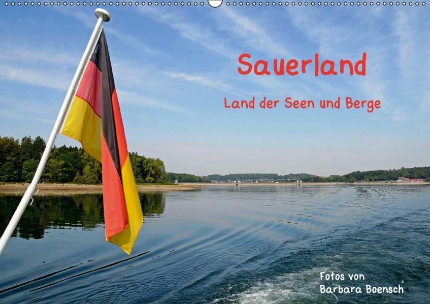Abbildung von Boensch   Sauerland - Land der Seen und Berge (Wandkalender 2019 DIN A2 quer)   7. Edition 2018   2018