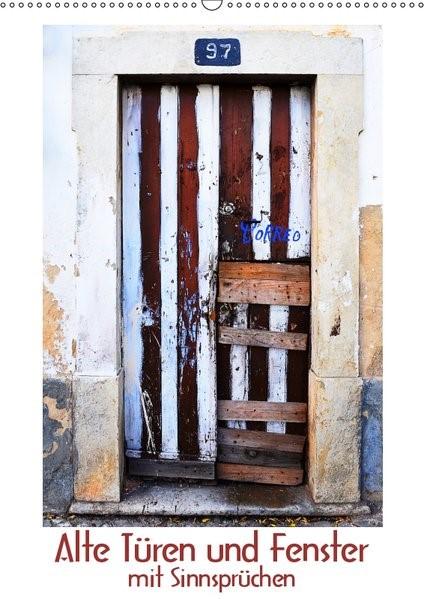 Abbildung von Meinen | Alte Türen und Fenster mit Sinnsprüchen (Wandkalender 2019 DIN A2 hoch) | 6. Edition 2018 | 2018
