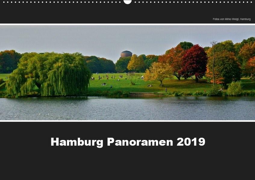 Hamburg Panoramen 2019 (Wandkalender 2019 DIN A2 quer) | © Mirko Weigt | 6. Edition 2018, 2018 (Cover)