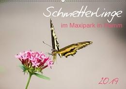 Abbildung von Gimpel   Schmetterlinge im Maxipark in Hamm (Wandkalender 2019 DIN A2 quer)   5. Edition 2018   2018   Ein tropisches Schmetterlingsh...