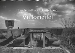 Abbildung von Kretschmann   Landschaften in Deutschland Vulkaneifel (Wandkalender 2019 DIN A2 quer)   5. Edition 2018   2018   Landschaft Vulkaneifel in schw...