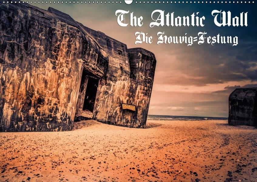 Abbildung von Bösecke | The Atlantic Wall - Die Houvig Festung 2019 (Wandkalender 2019 DIN A2 quer) | 5. Edition 2018 | 2018