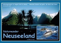 Abbildung von Böhme | Naturwunder Neuseeland - in Bild und Text (Wandkalender 2019 DIN A2 quer) | 5. Edition 2018 | 2018 | Das schönste Ende der Welt (Mo...