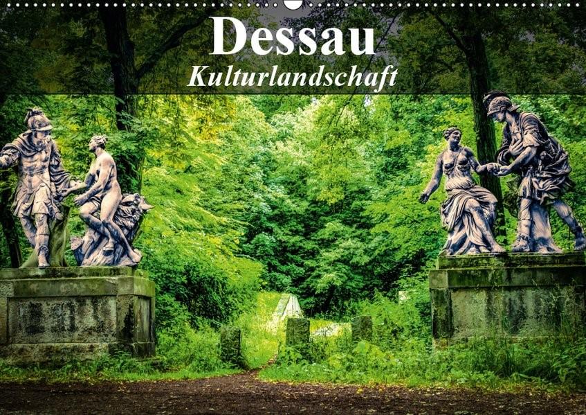 Abbildung von Bösecke   Dessau - Kulturlandschaft (Wandkalender 2019 DIN A2 quer)   5. Edition 2018   2018