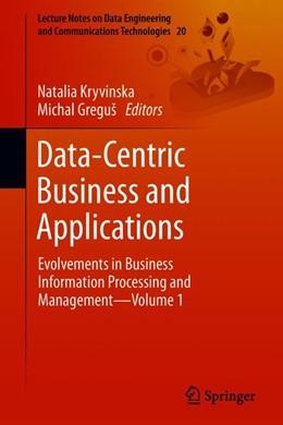 Abbildung von Kryvinska / Greguš   Data-Centric Business and Applications   1. Auflage   2018   20   beck-shop.de