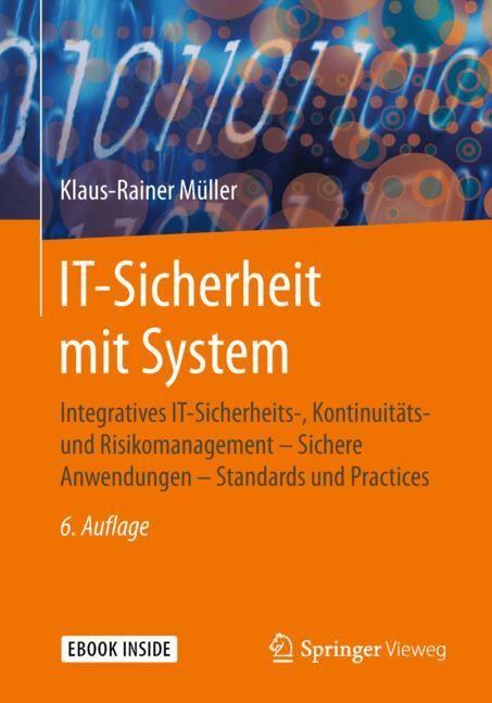 IT-Sicherheit mit System | Müller | 6., erw. u. überarb. Aufl. 2018, 2018 | Buch (Cover)