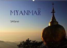 Abbildung von Boettcher | Myanmar - 24 Karat (Wandkalender 2019 DIN A2 quer) | 5. Edition 2018 | 2018 | Vergoldete heilige Statuen und...