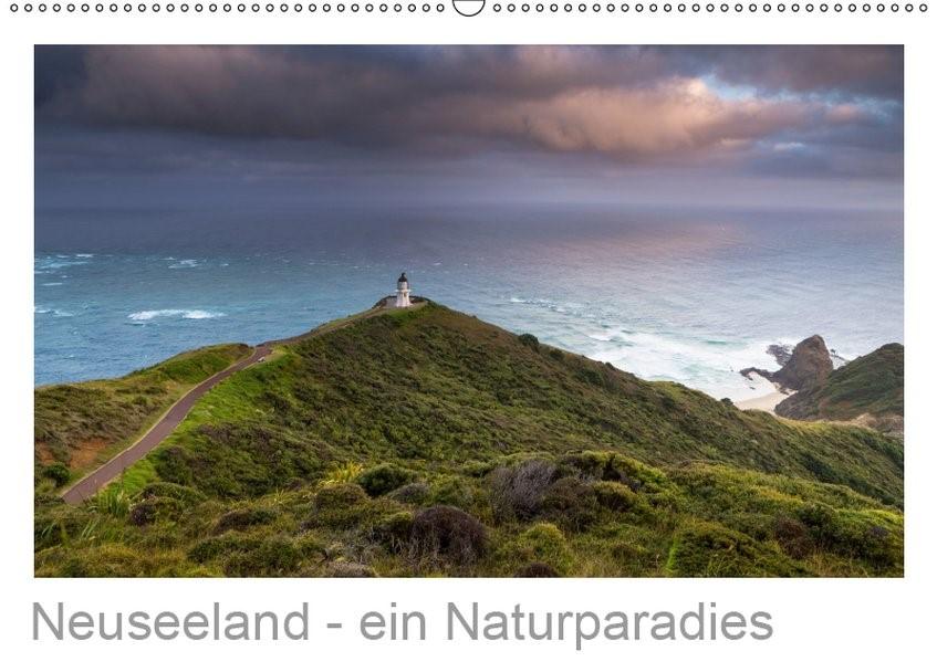 Neuseeland - ein Naturparadies (Wandkalender 2019 DIN A2 quer) | Kalender365. Com | 5. Edition 2018, 2018 (Cover)