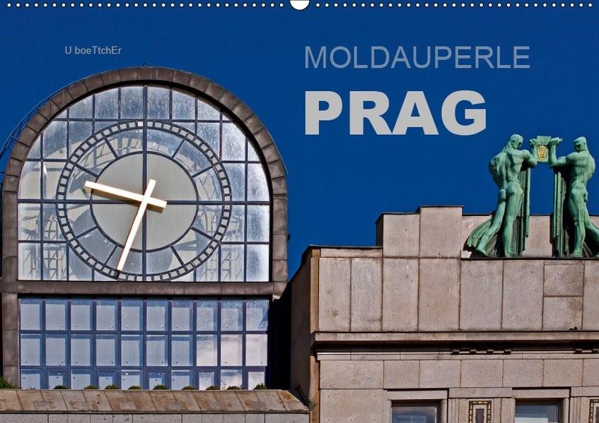 Abbildung von Boettcher   Moldauperle Prag (Wandkalender 2019 DIN A2 quer)   5. Edition 2018   2018