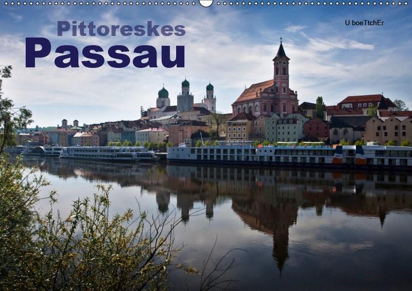Abbildung von Boettcher | Pittoreskes Passau (Wandkalender 2019 DIN A2 quer) | 5. Edition 2018 | 2018