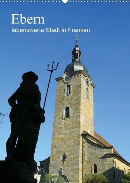 Abbildung von Meister | Ebern - lebenswerte Stadt in Franken (Wandkalender 2019 DIN A2 hoch) | 5. Edition 2018 | 2018