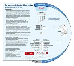 Abbildung von Hahn | Beratungsscheibe Antidepressiva | 1. Auflage | 2018 | beck-shop.de