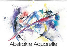 Abbildung von Krause | Abstrakte Aquarelle (Wandkalender 2019 DIN A2 quer) | 4. Edition 2018 | 2018 | Moderne Aquarelle mit Kreide u...