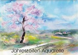 Abbildung von Krause   Jahreszeiten Aquarelle (Wandkalender 2019 DIN A2 quer)   4. Edition 2018   2018   Mit Aquarellen durchs Jahr (Mo...