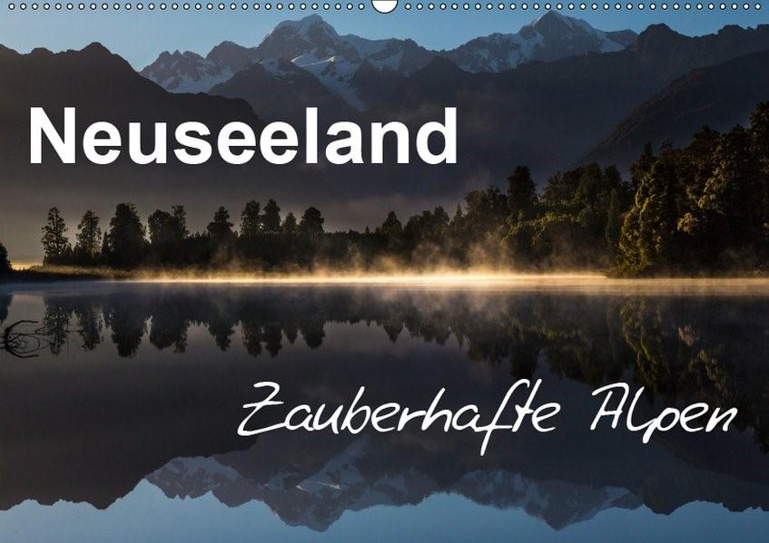 Abbildung von Böhme | Neuseeland - Zauberhafte Alpen (Wandkalender 2019 DIN A2 quer) | 4. Edition 2018 | 2018