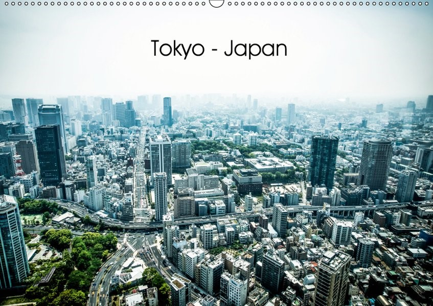 Tokyo - Japan (Wandkalender 2019 DIN A2 quer) | Just | 4. Edition 2018, 2018 (Cover)