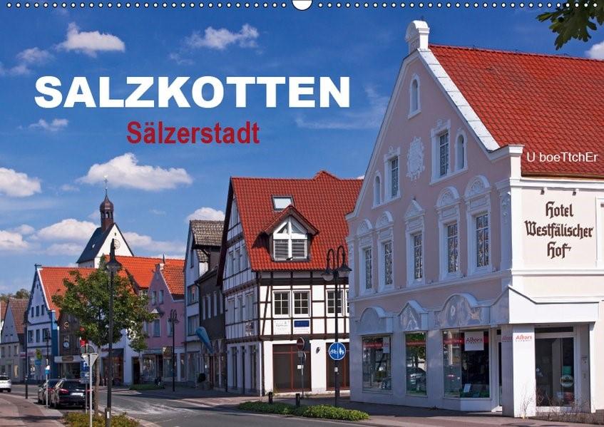 Abbildung von Boettcher | SALZKOTTEN - Sälzerstadt (Wandkalender 2019 DIN A2 quer) | 4. Edition 2018 | 2018