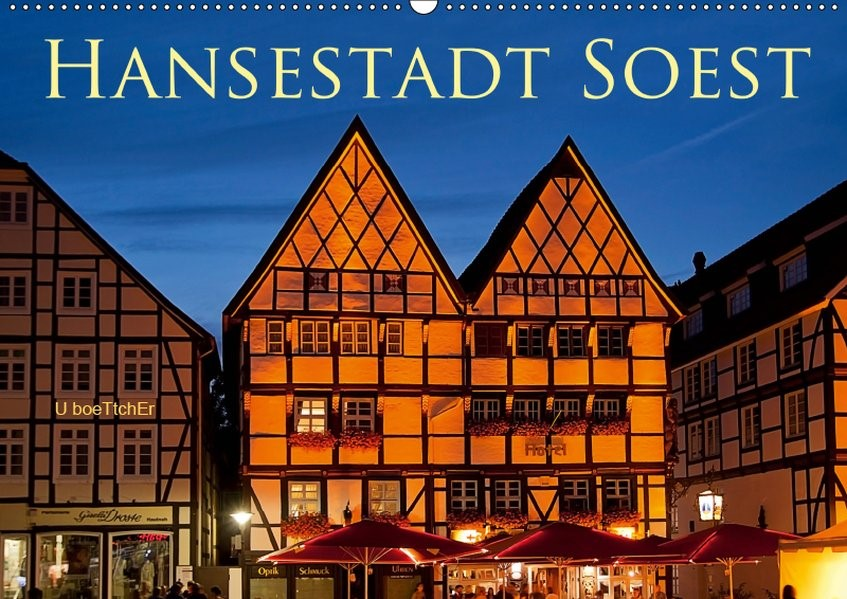 Abbildung von Boettcher | Hansestadt Soest (Wandkalender 2019 DIN A2 quer) | 4. Edition 2018 | 2018