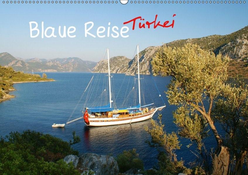 Abbildung von Meinicke | Blaue Reise Türkei (Wandkalender 2019 DIN A2 quer) | 4. Edition 2018 | 2018