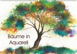 Abbildung von Krause | Bäume in Aquarell (Wandkalender 2019 DIN A2 quer) | 4. Edition 2018 | 2018 | Handgemalte Baumaquarelle (Mon...