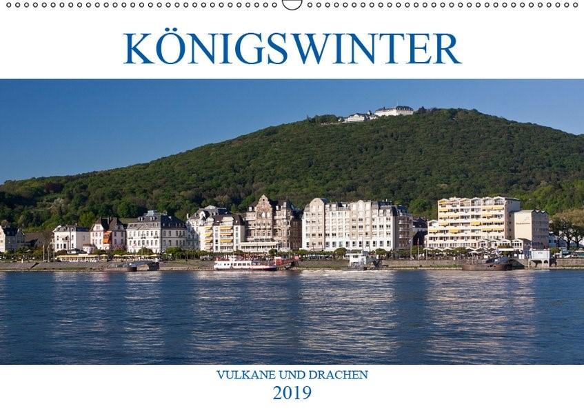 Abbildung von Boettcher | KÖNIGSWINTER - VULKANE UND DRACHEN (Wandkalender 2019 DIN A2 quer) | 3. Edition 2018 | 2018