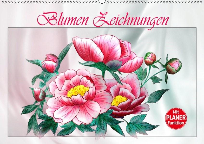 Abbildung von Djeric | Blumen-Zeichnungen (Wandkalender 2019 DIN A2 quer) | 4. Edition 2014 | 2014