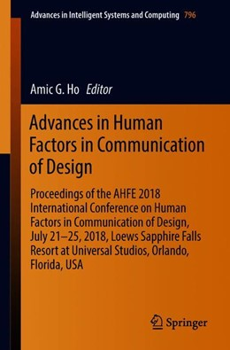 Abbildung von Ho | Advances in Human Factors in Communication of Design | 2019 | 2018 | Proceedings of the AHFE 2018 I...
