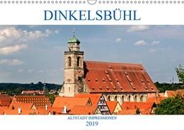 Abbildung von Boettcher | DINKELSBÜHL - ALTSTADT IMPRESSIONEN (Wandkalender 2019 DIN A3 quer) | 1. Edition 2018 | 2018 | Dinkelsbühl - Eine der schönst...