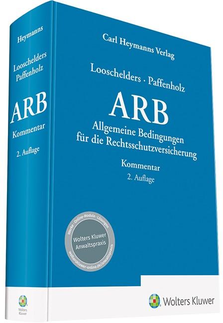 Allgemeine Bedingungen für die Rechtschutzversicherung | Looschelders / Paffenholz (Hrsg.) | 2. Auflage, 2018 | Buch (Cover)