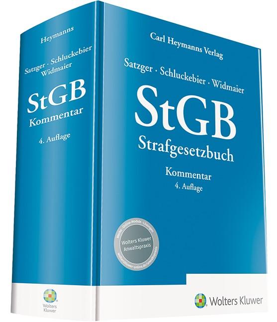 StGB: Kommentar zum Strafgesetzbuch | Satzger / Schluckebier / Widmaier | 4. Auflage, 2018 | Buch (Cover)
