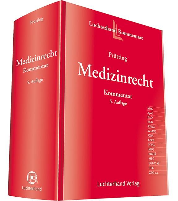 Abbildung von Prütting | Medizinrecht Kommentar | 5. Auflage | 2019