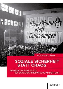 Abbildung von Jäger   Soziale Sicherheit statt Chaos   1. Auflage   2018   beck-shop.de