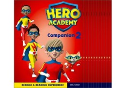 Abbildung von Hero Academy: Oxford Levels 7-12, Turquoise-Lime+ Book Bands: Companion 2 Class Pack | 2018