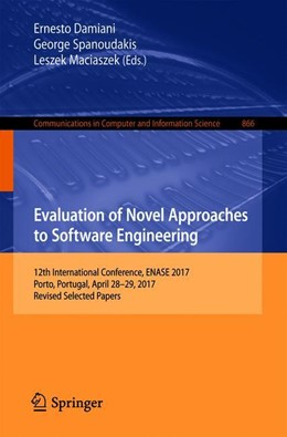 Abbildung von Damiani / Spanoudakis | Evaluation of Novel Approaches to Software Engineering | 1. Auflage | 2018 | 866 | beck-shop.de