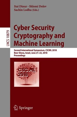 Abbildung von Dinur / Dolev / Lodha | Cyber Security Cryptography and Machine Learning | 1st ed. 2018 | 2018 | Second International Symposium...