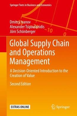 Abbildung von Ivanov / Tsipoulanidis   Global Supply Chain and Operations Management   2. Auflage   2018   beck-shop.de
