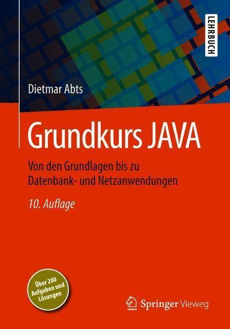 Grundkurs JAVA | Abts | 10., akt. u. erw. Aufl. 2018, 2018 | Buch (Cover)