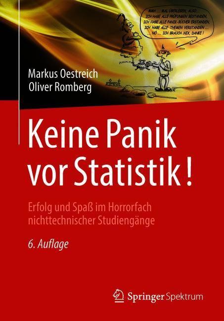 Keine Panik vor Statistik! | Oestreich / Romberg | 6. Aufl. 2018, 2018 | Buch (Cover)