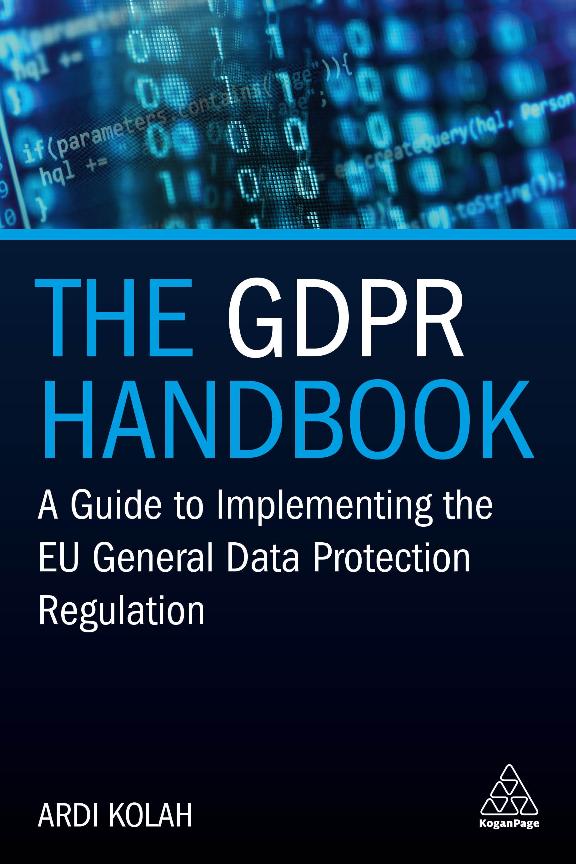 The GDPR Handbook | Kolah, 2018 | eBook (Cover)