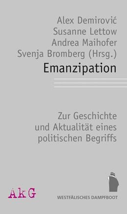 Abbildung von Demirovic / Lettow | Emanzipation | 1. Auflage | 2019 | beck-shop.de