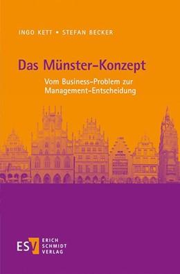 Abbildung von Kett / Becker   Das Münster-Konzept   1. Auflage   2018   beck-shop.de
