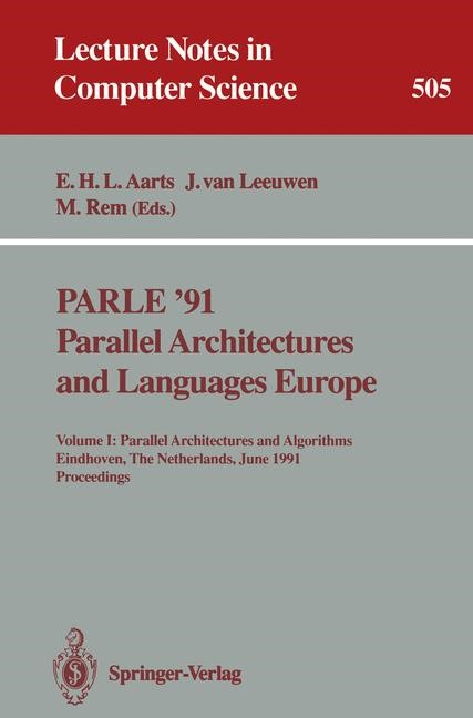 PARLE '91. Parallel Architectures and Languages Europe | Aarts / Leeuwen / Rem, 1991 | Buch (Cover)