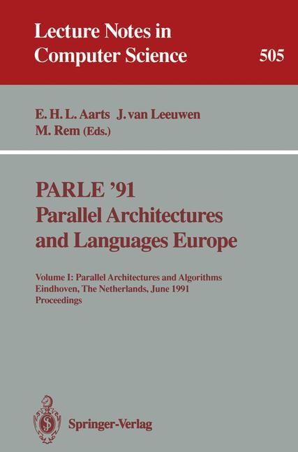 Abbildung von Aarts / Leeuwen / Rem | PARLE '91. Parallel Architectures and Languages Europe | 1991