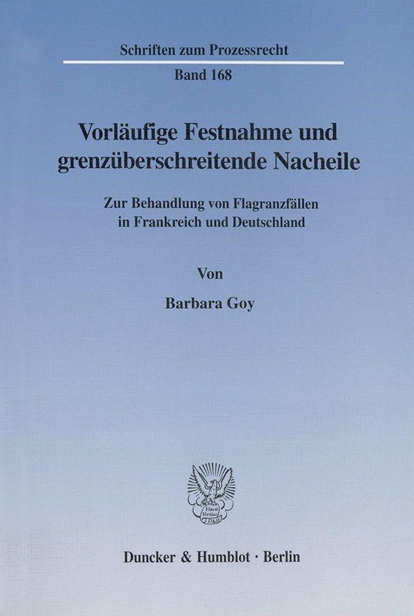 Abbildung von Goy | Vorläufige Festnahme und grenzüberschreitende Nacheile. | 2002